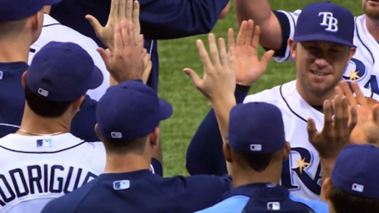 Rays unable to find extra gear in rare lost season