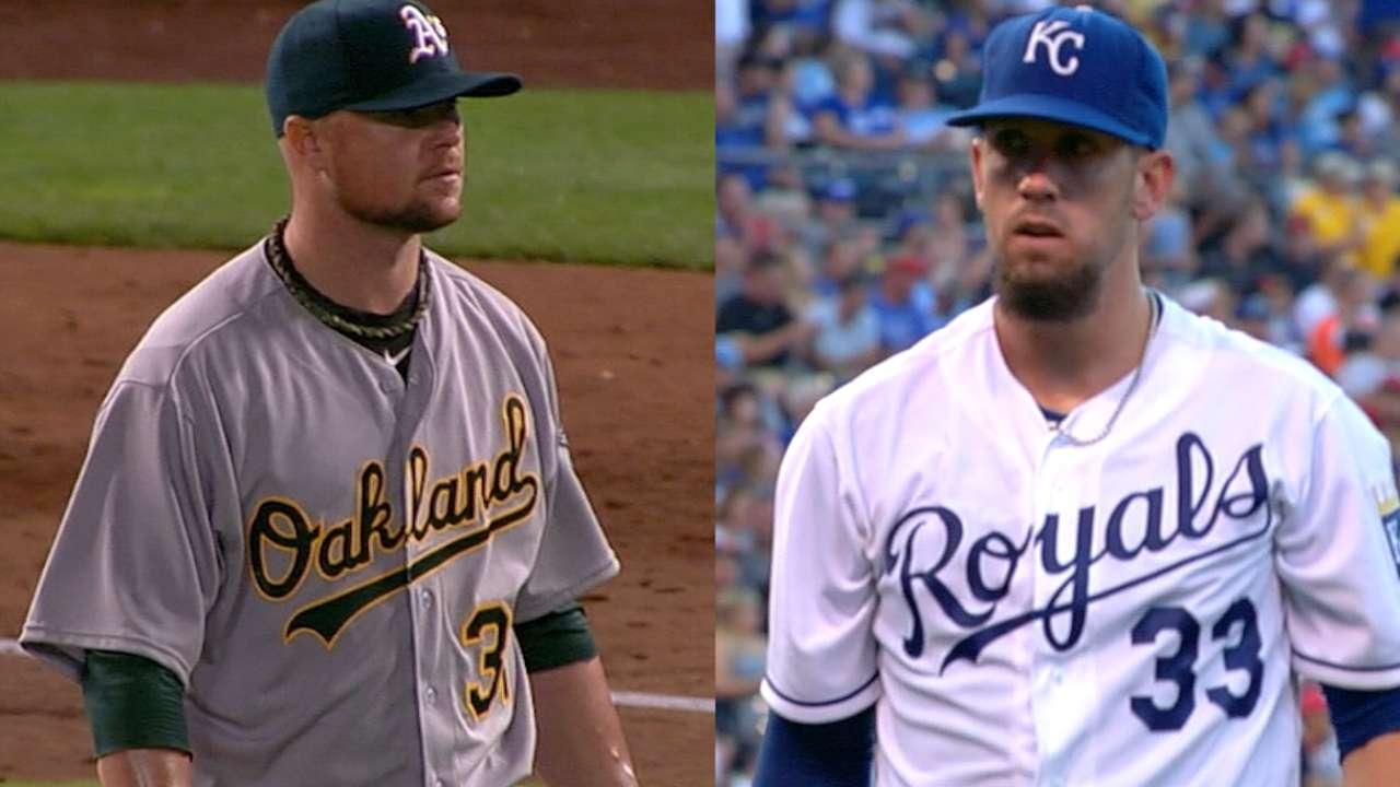 Lineup breakdown: A's-Royals, AL Wild Card Game