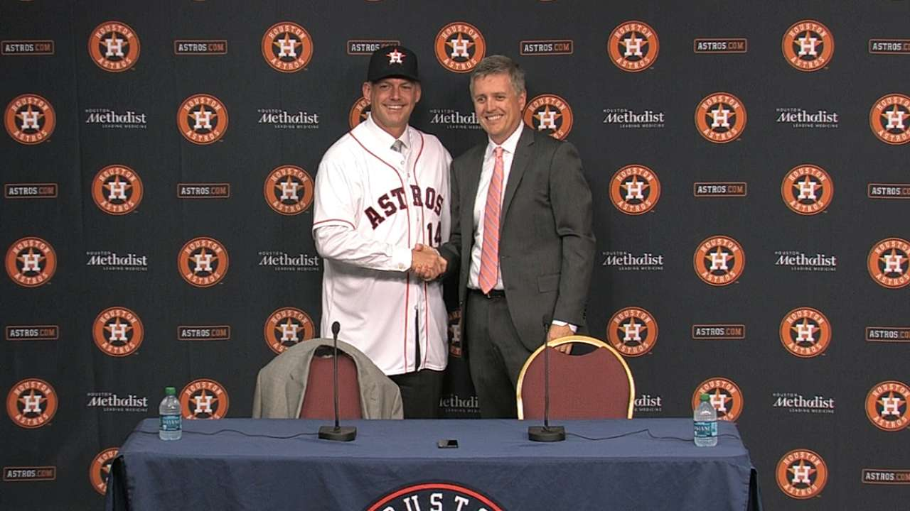 Hinch hiring a bold move by Astros