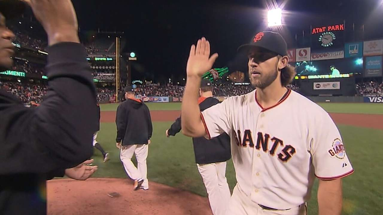 Small hometown embraces Bumgarner