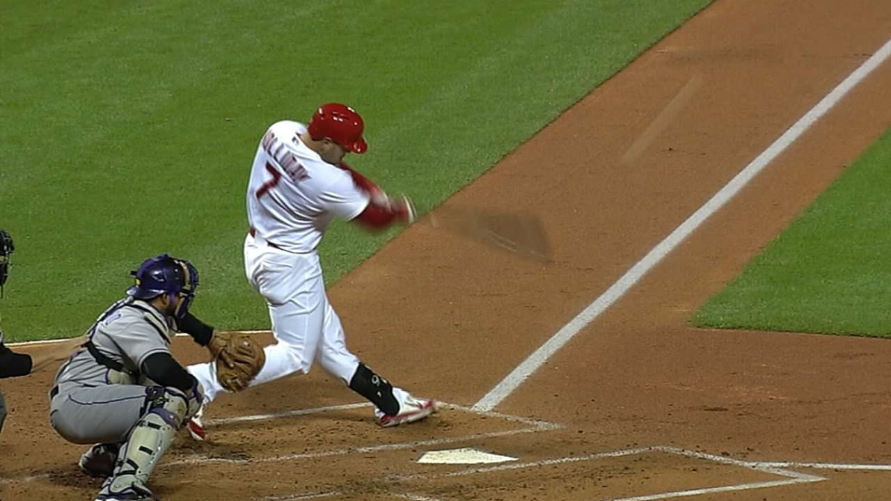 Off-days allow Holliday to regain strength