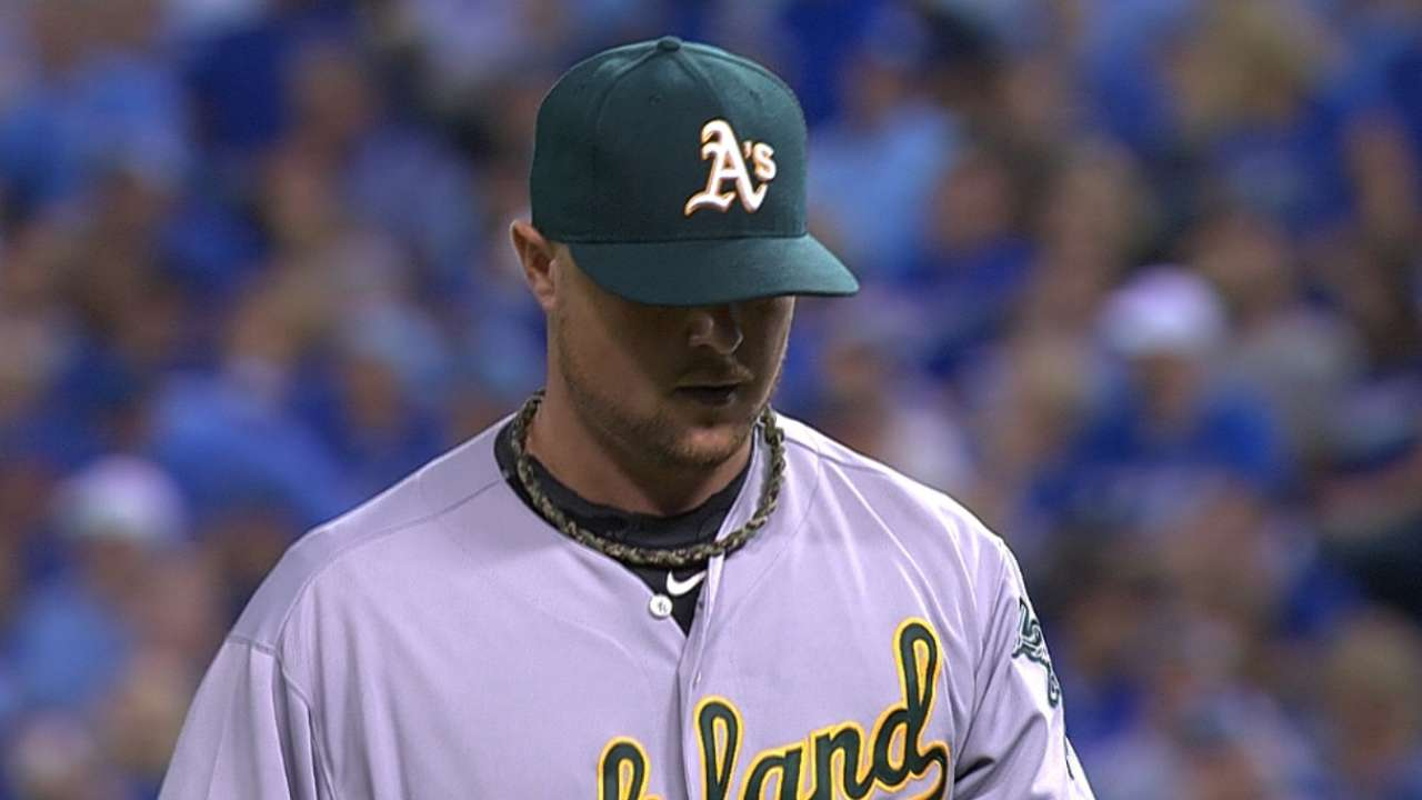 Hero of past Octobers, Lester comes up short