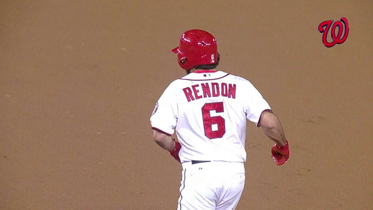 As budding talent, Rendon enjoyed comforts of home