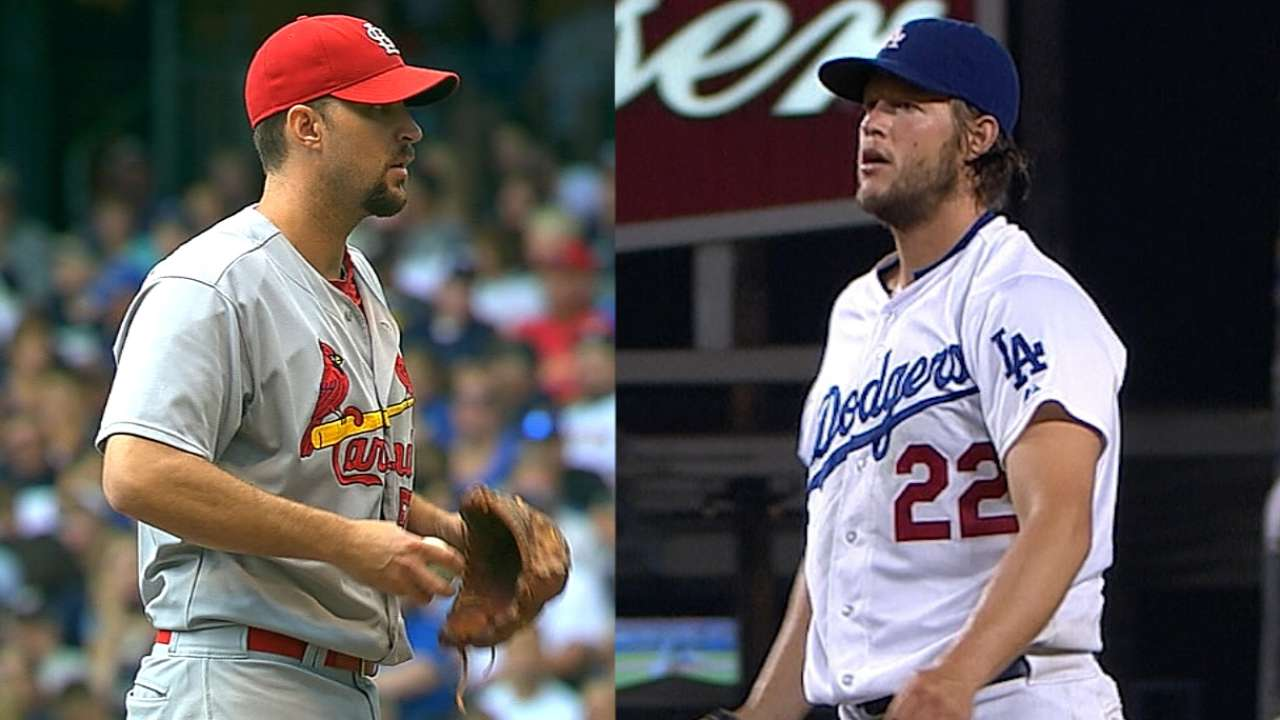 Tale of the tape: Cardinals-Dodgers, Game 1