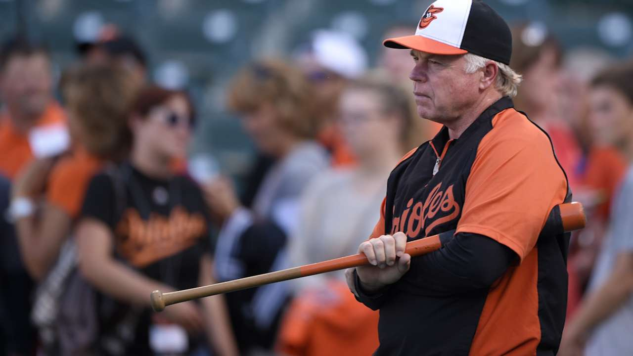 Who will man third not a concern for Showalter