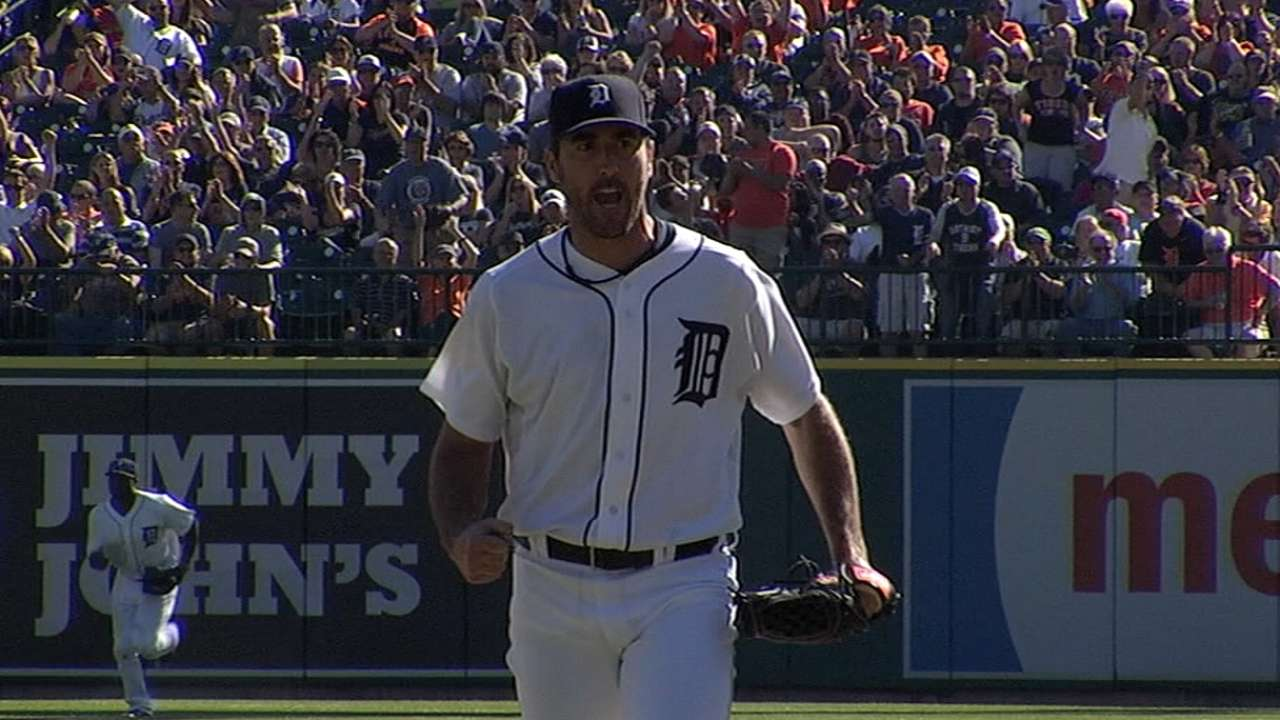 Davis included on Tigers' Division Series roster