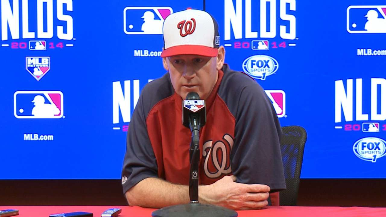 No wrong choice for Nationals in Game 1