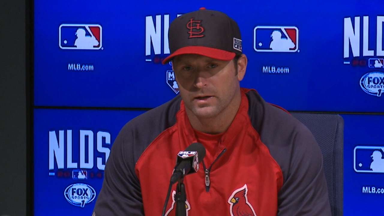 Cards confident thanks to past success vs. Kershaw