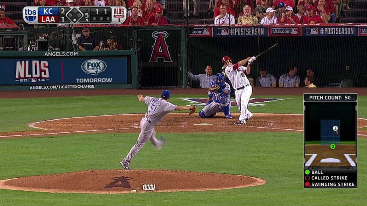 Angels can't convert, drop Game 1 on homer in 11th
