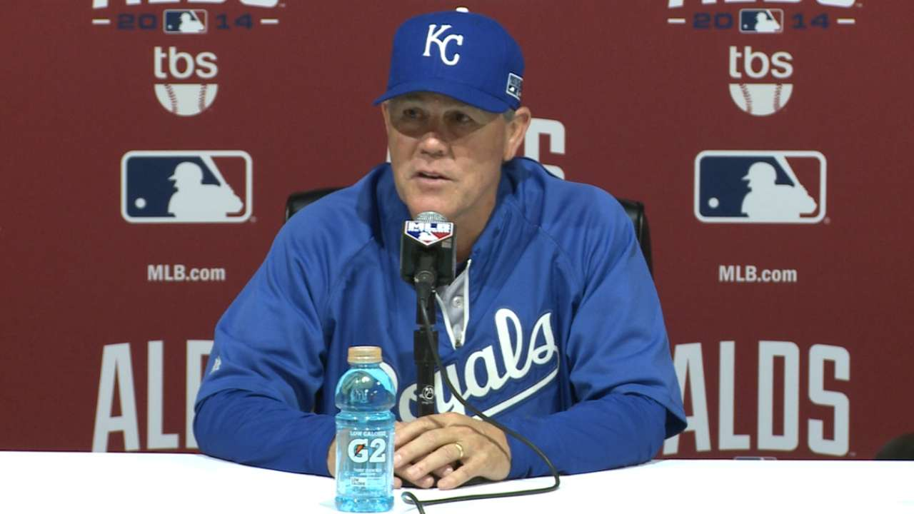 Oct. 2: Ned Yost postgame interview