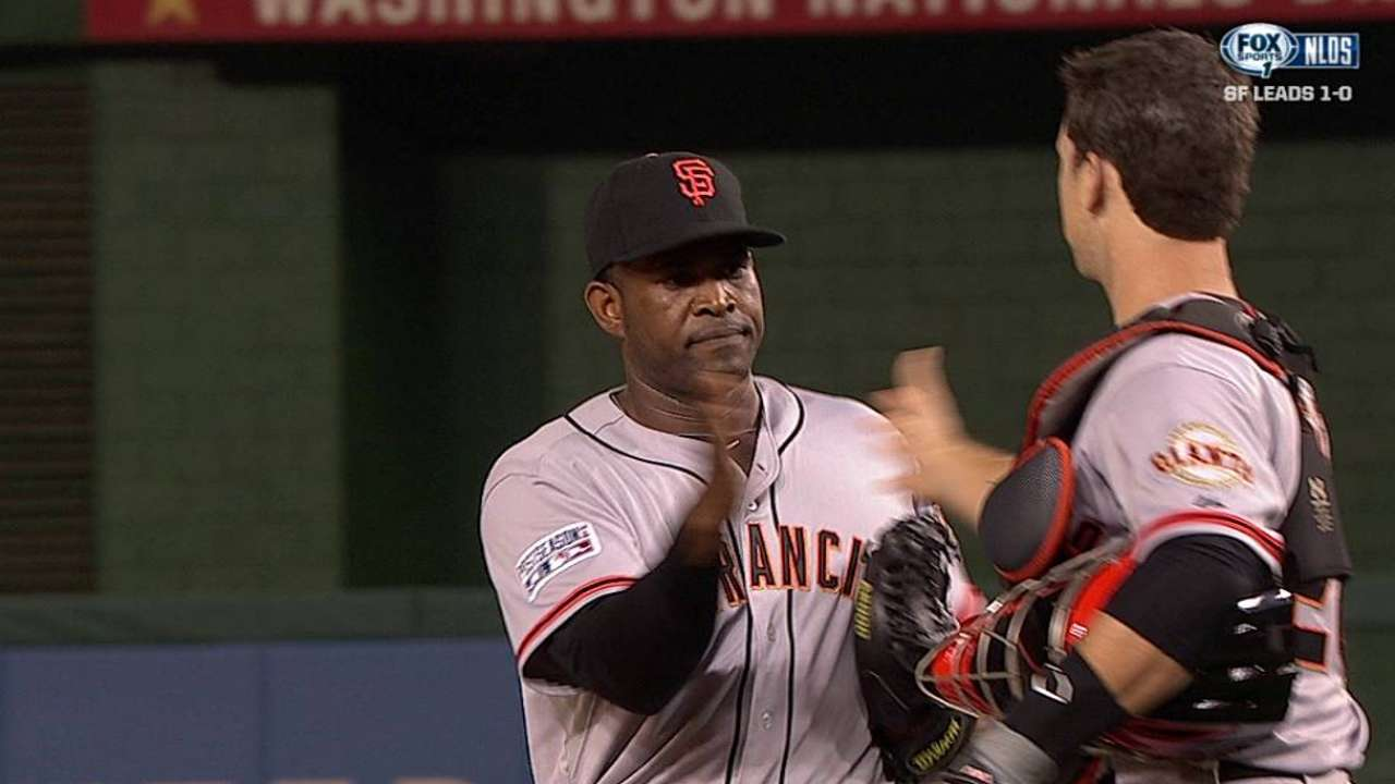Giants-Nationals, Game 1: Did you know?