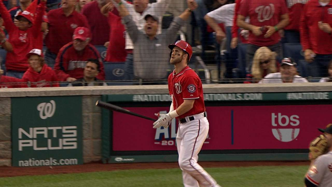 Homers not enough to rally Nats in Game 1 loss