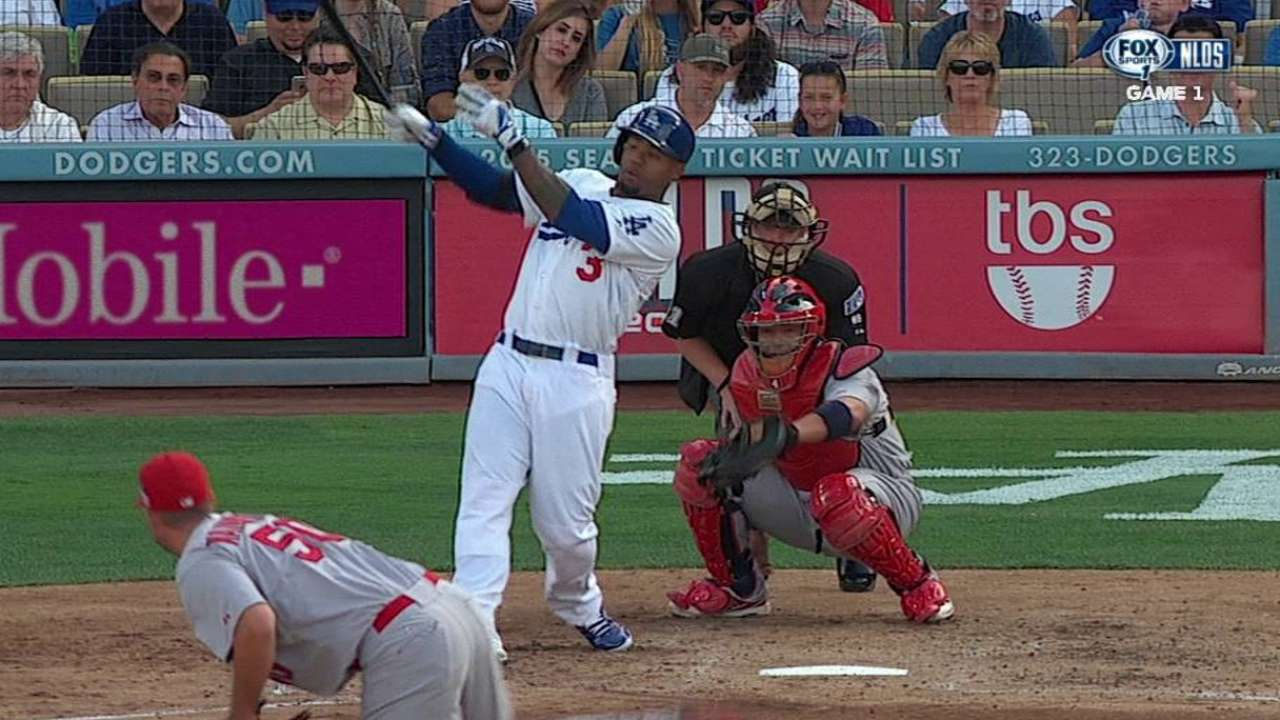 Dodgers' lively bats fall one big hit short in end