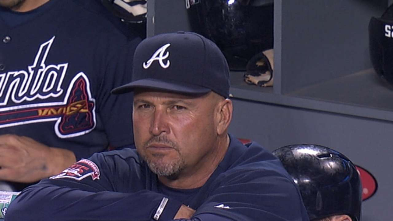 Amidst GM search, Braves start reshaping front office