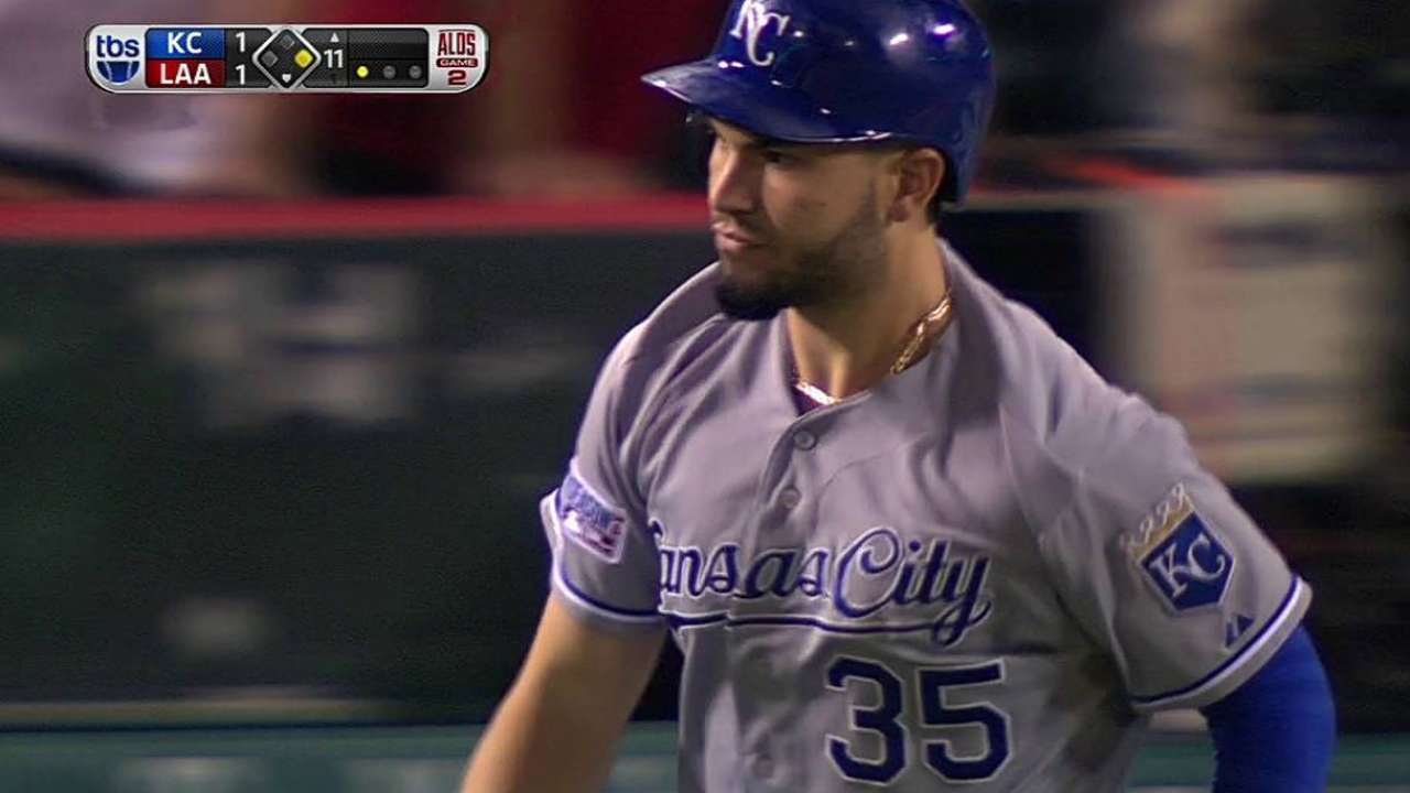 Hosmer's go-ahead home run