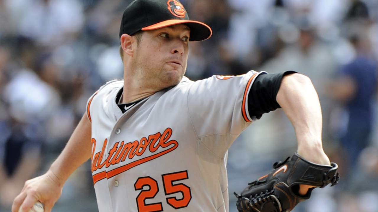 Oct. 4 Bud Norris workout day interview