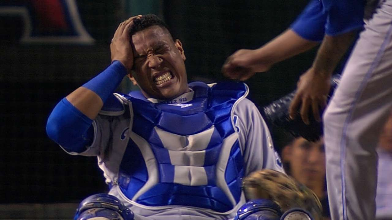 Yost declares Salvy is fine, ready for Game 3