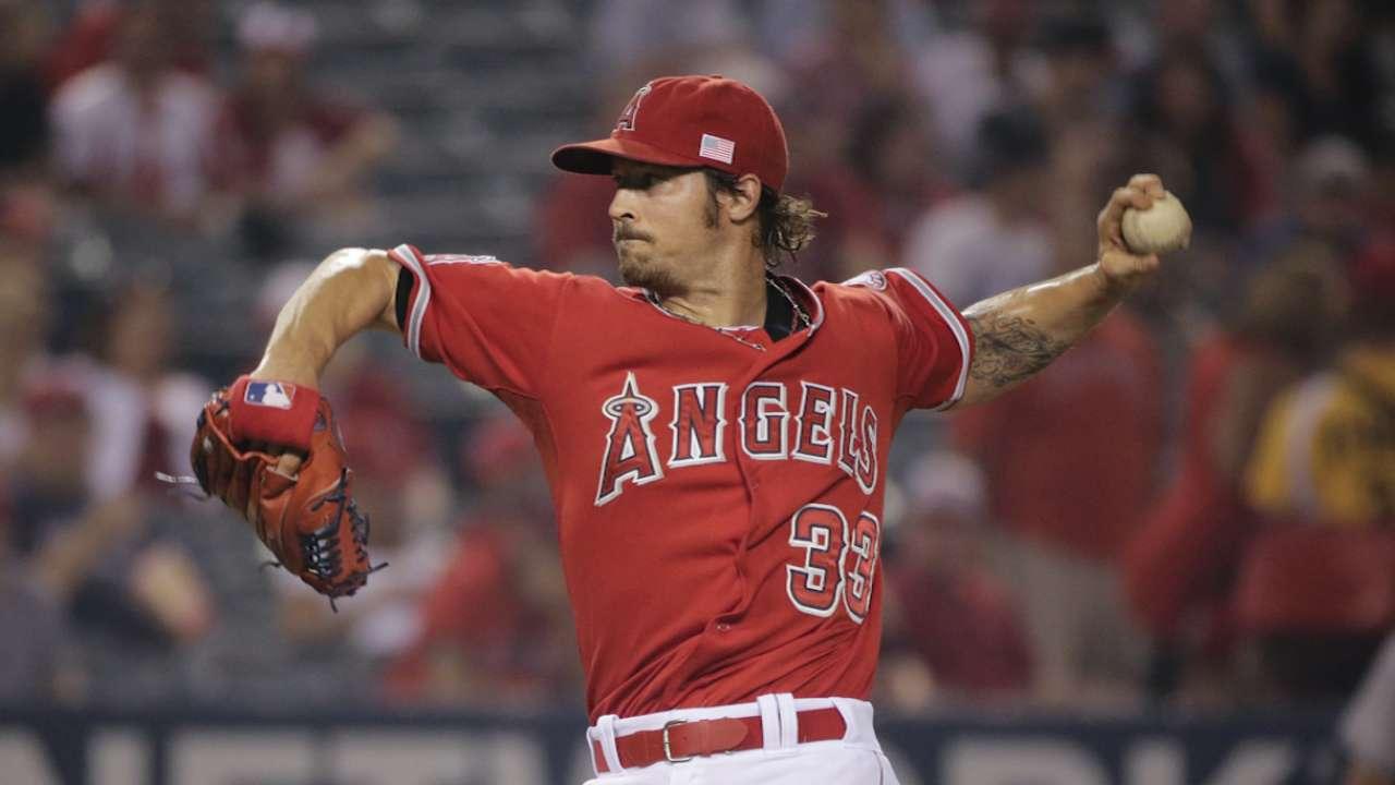 Angels' season rests in Wilson's left hand
