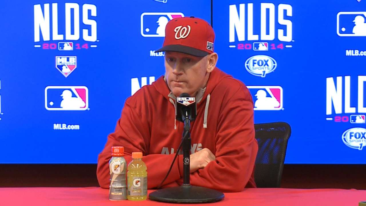 Echoes of past in Nats' decision to go with Storen