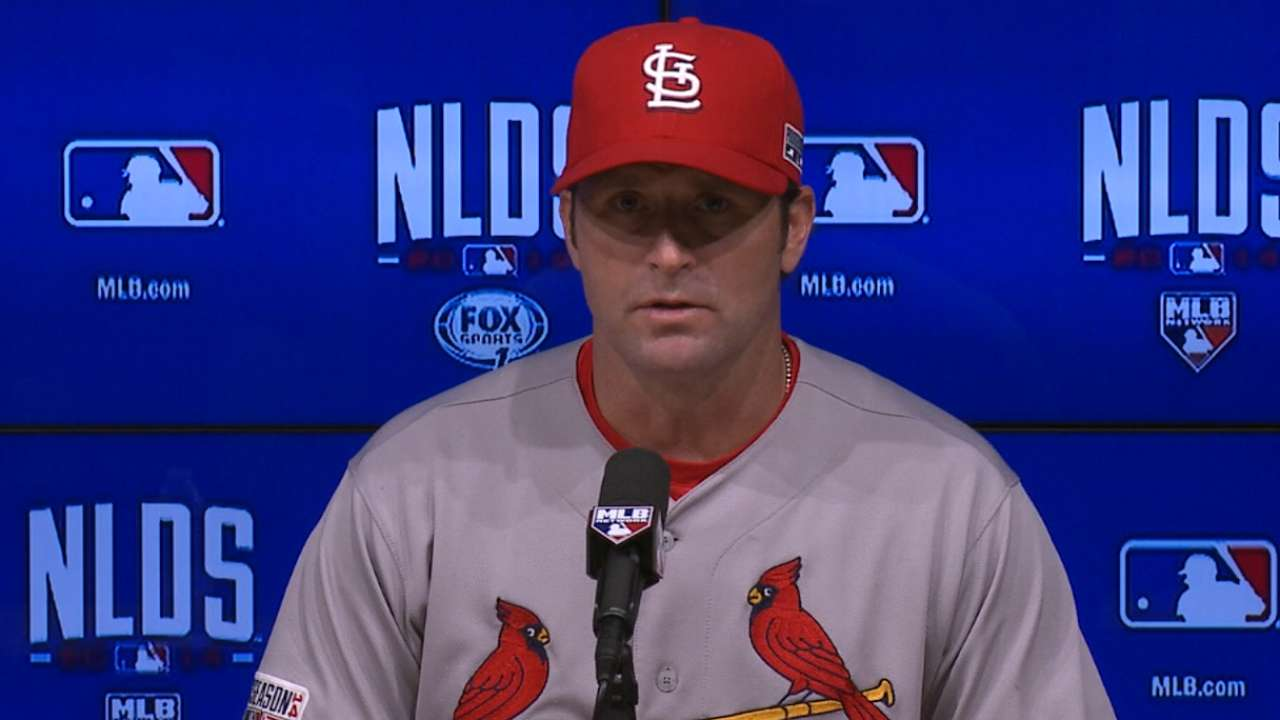 Oct. 4 Mike Matheny postgame interview
