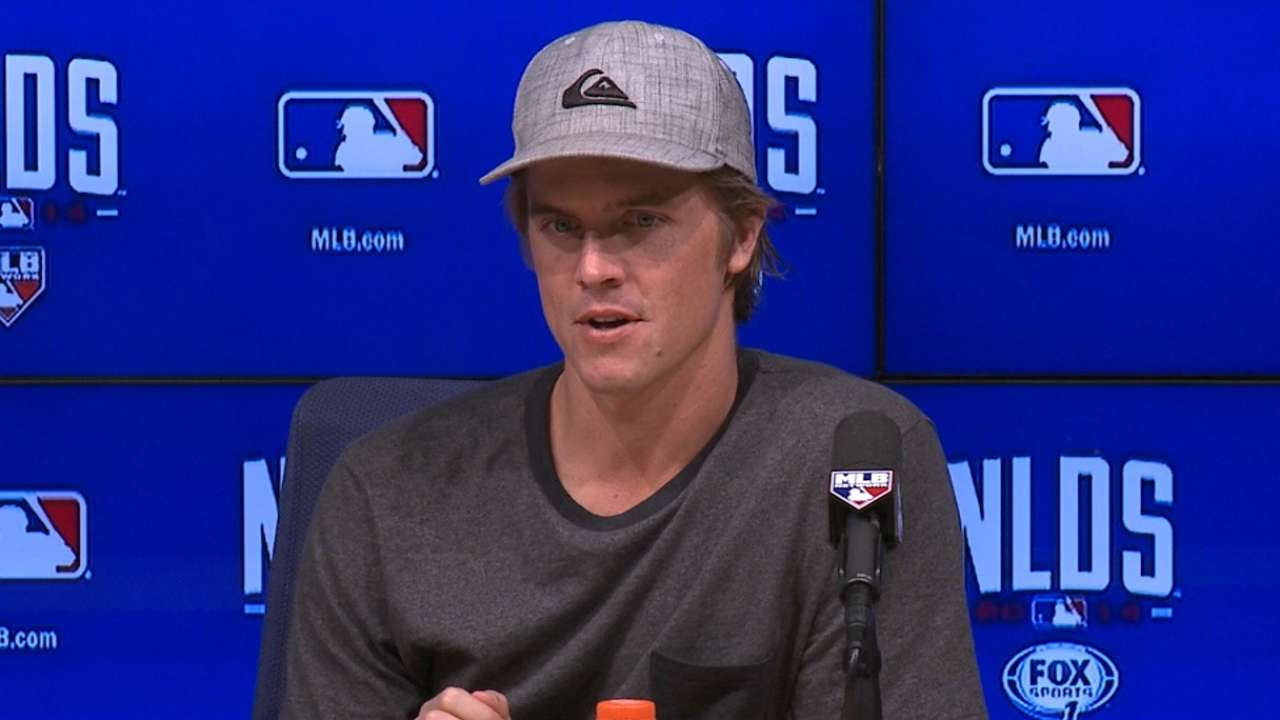 Oct. 4 Zack Greinke postgame interview