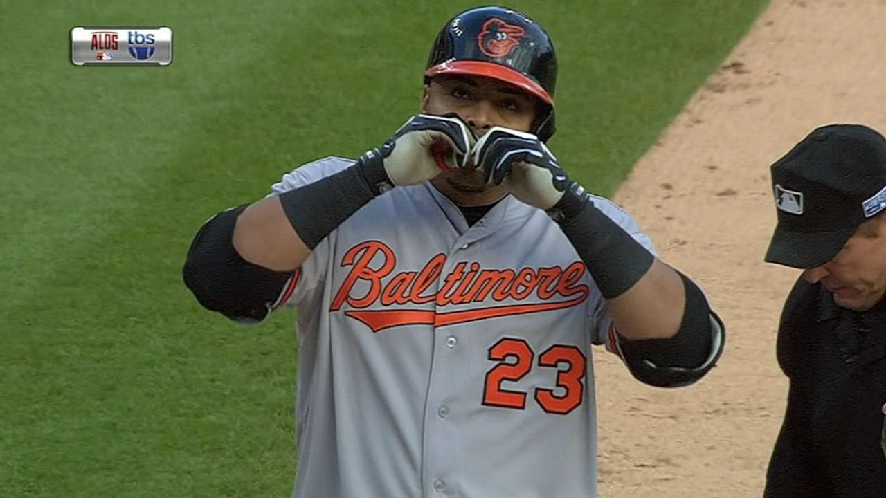 Cruz's dominance of Tigers helps lift Orioles into ALCS