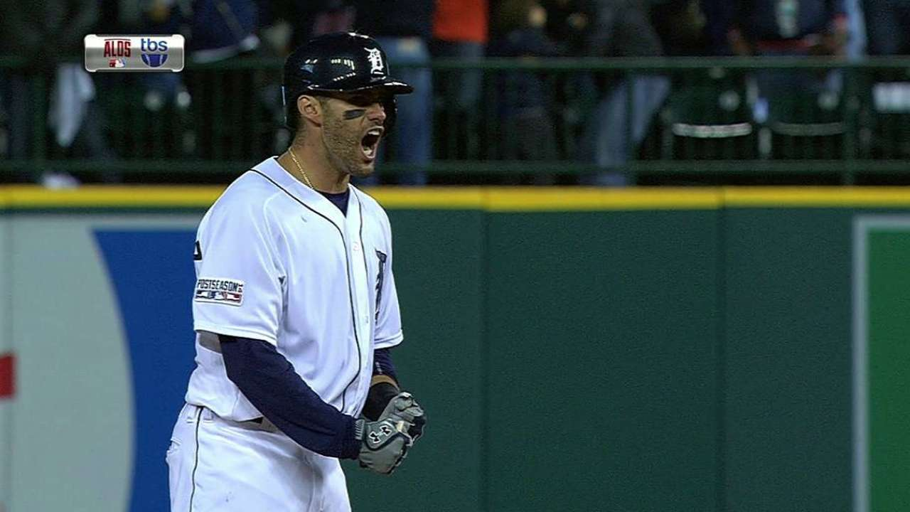 Tigers' rally falls short, season ends with ALDS sweep