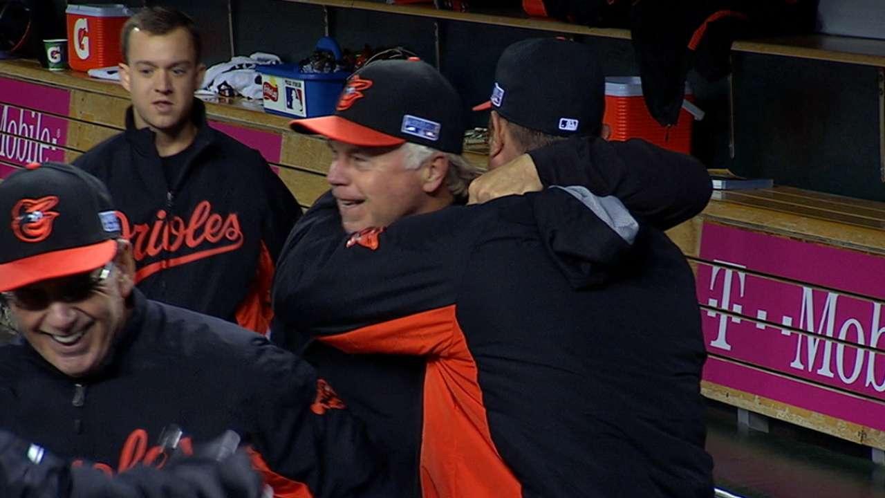 How sweep it is: Cruz, Norris punch O's ticket to ALCS