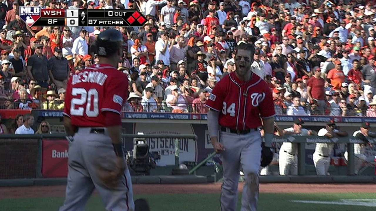 Nationals-Giants Game 3: Did You Know?