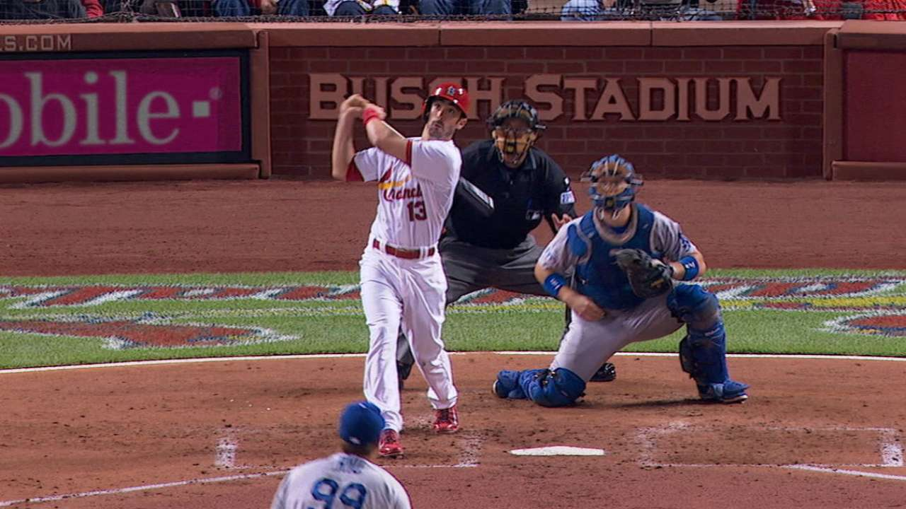 Carpenter, Adams rocks for Cards at the corners