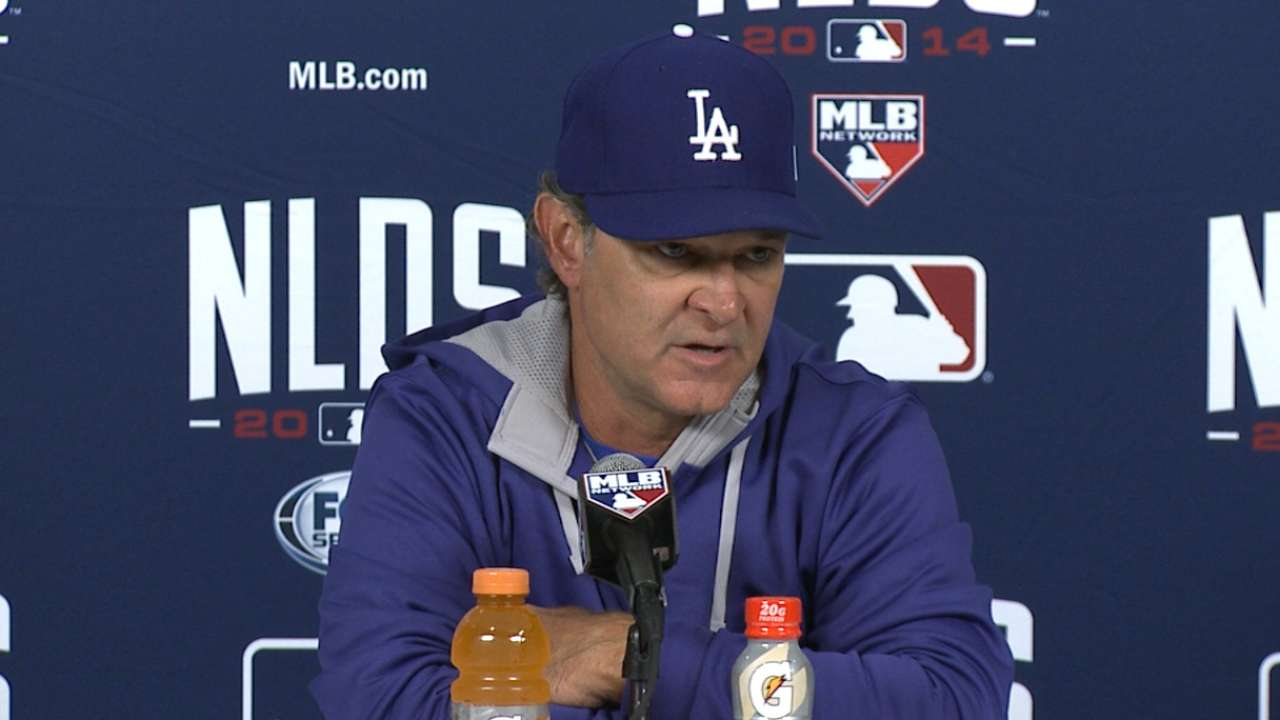 Oct. 6 Don Mattingly postgame interview