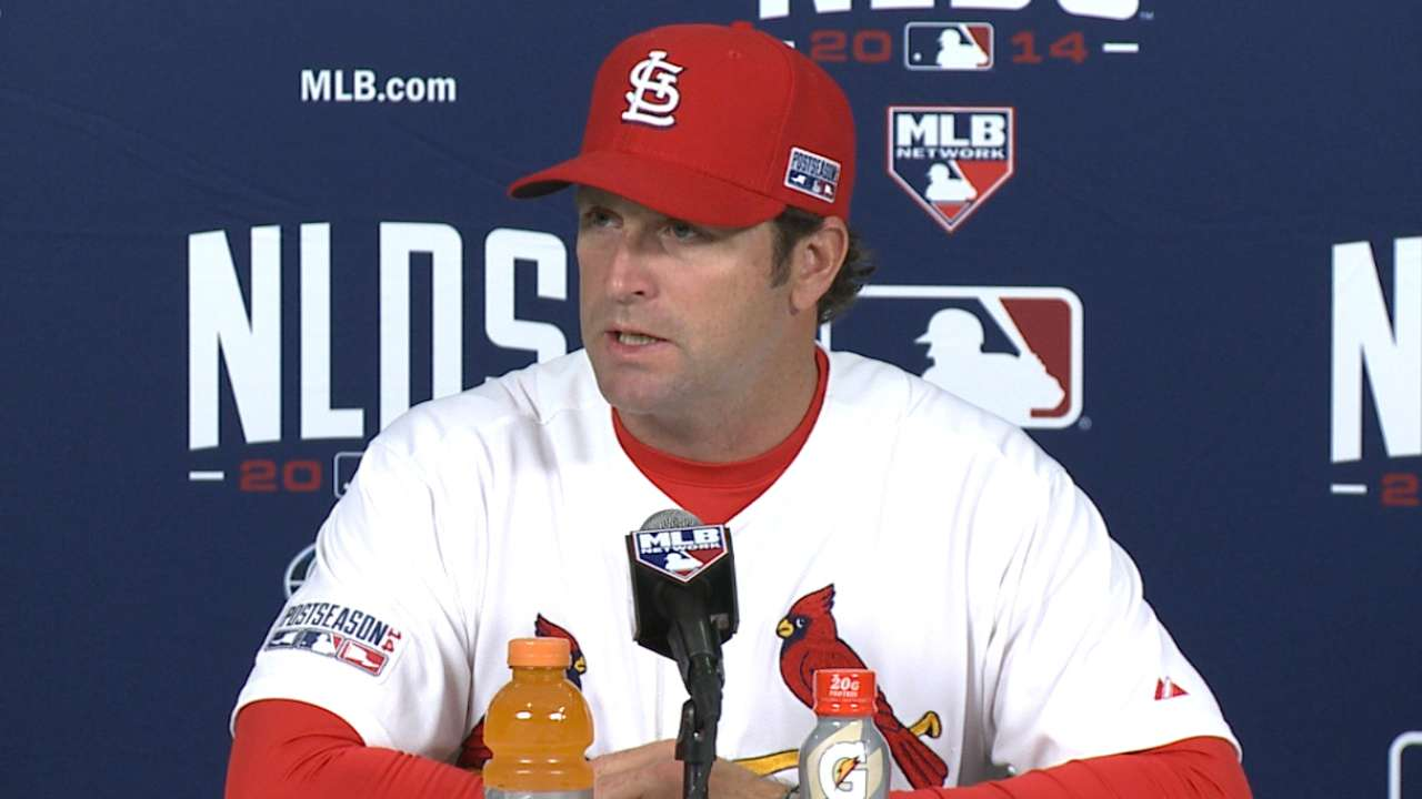 Oct. 6 Mike Matheny postgame interview