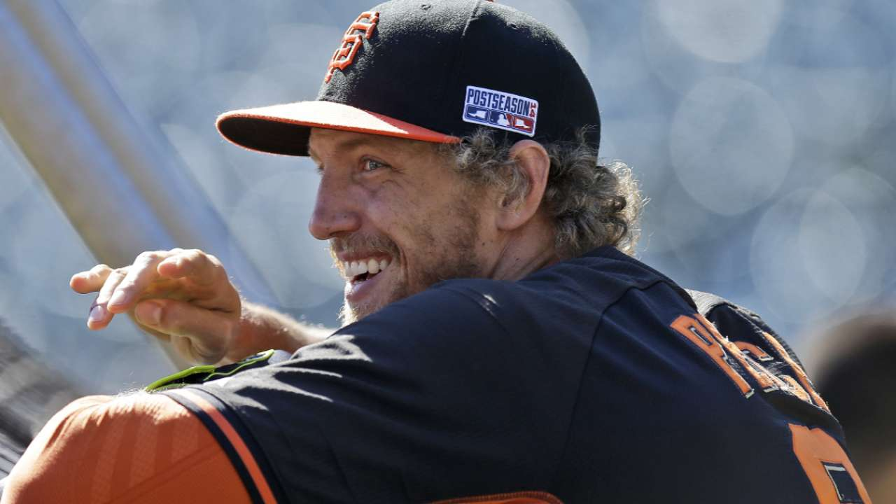 Pence a perfect fit as Giants' spiritual leader