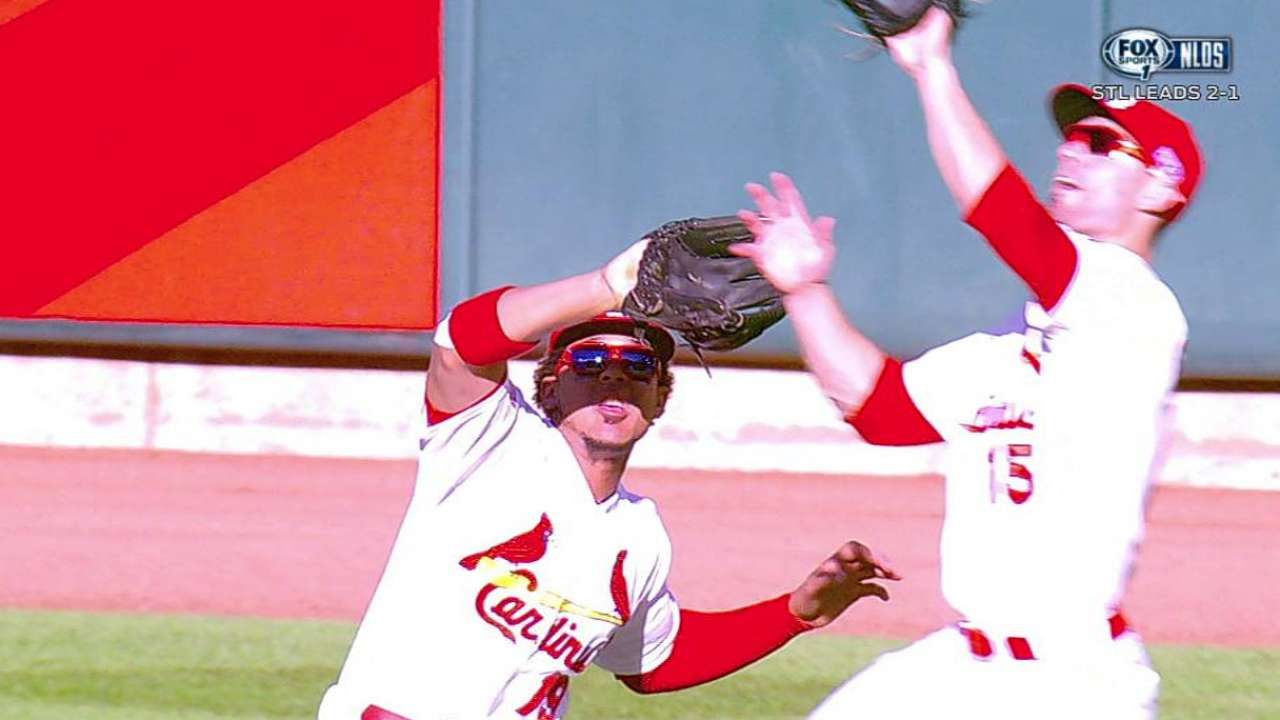 Grichuk continues to draw starts over Taveras