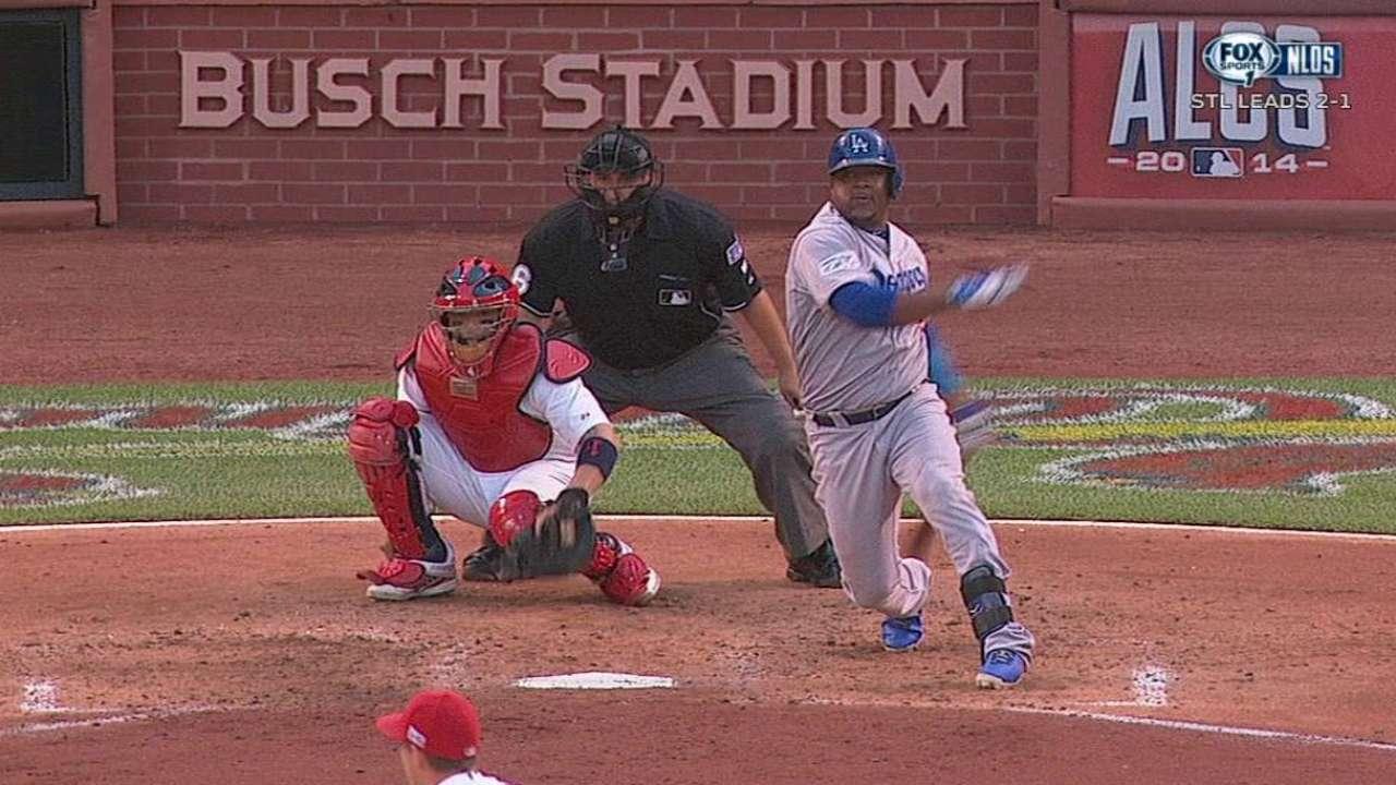 Jonrón vs. Kershaw selló eliminación de Dodgers