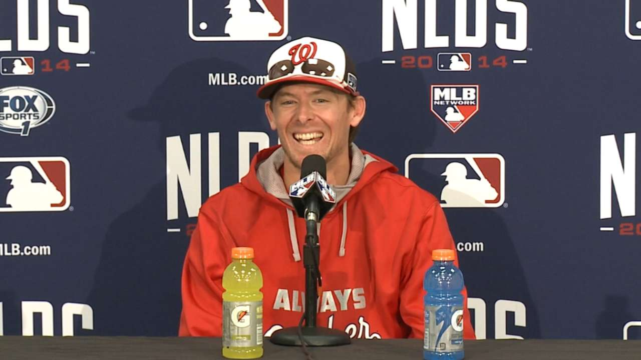 Williams enjoys Clippard's take on potential Game 5