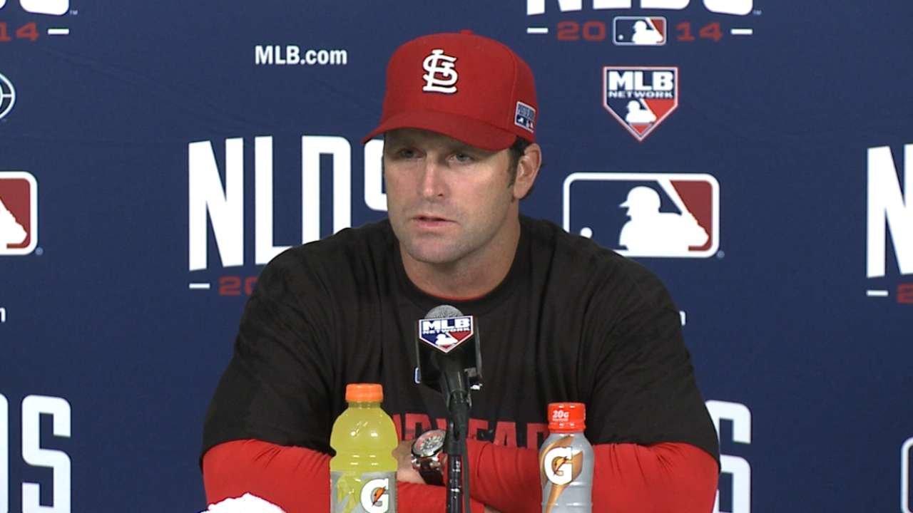 Oct. 7 Mike Matheny postgame interview