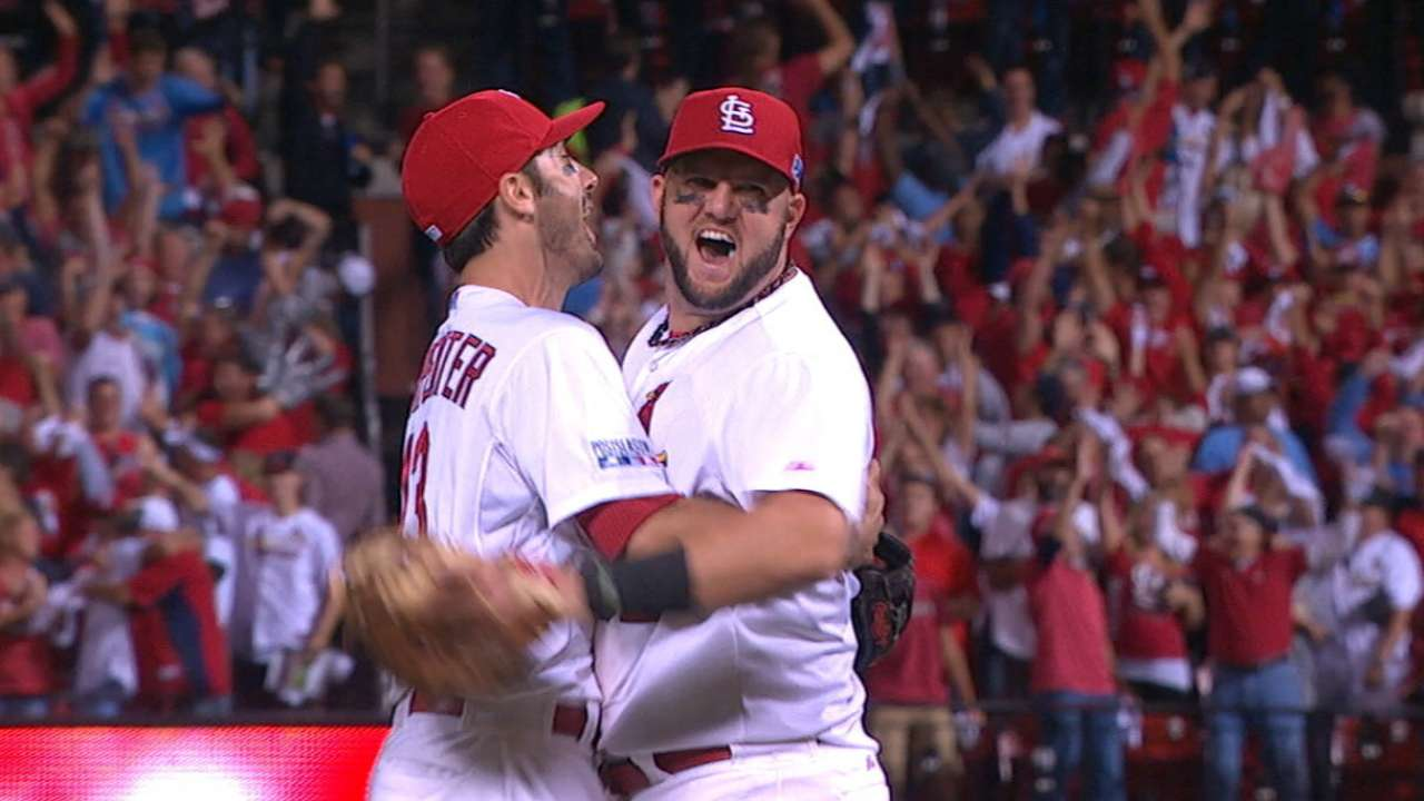 MLB Notebook: Nail-biters the norm in '14 postseason