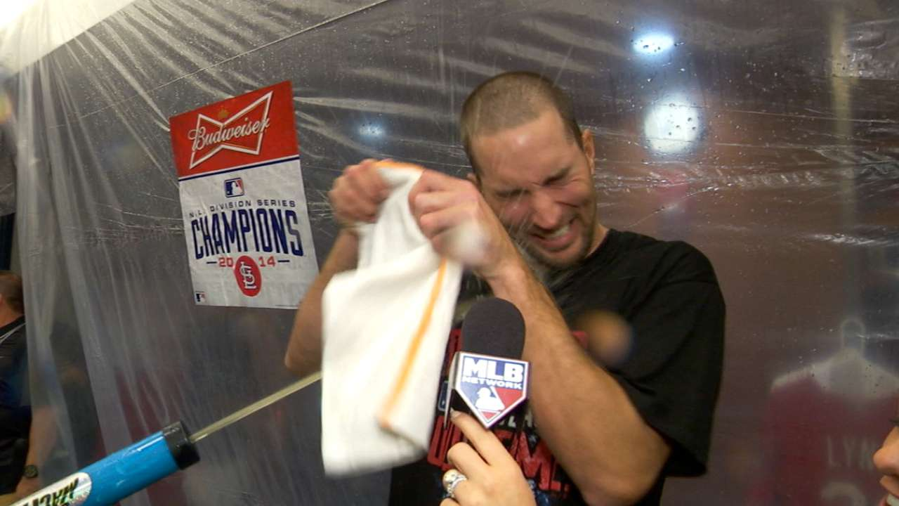 Wainwright to draw start for Cards in NLCS Game 1