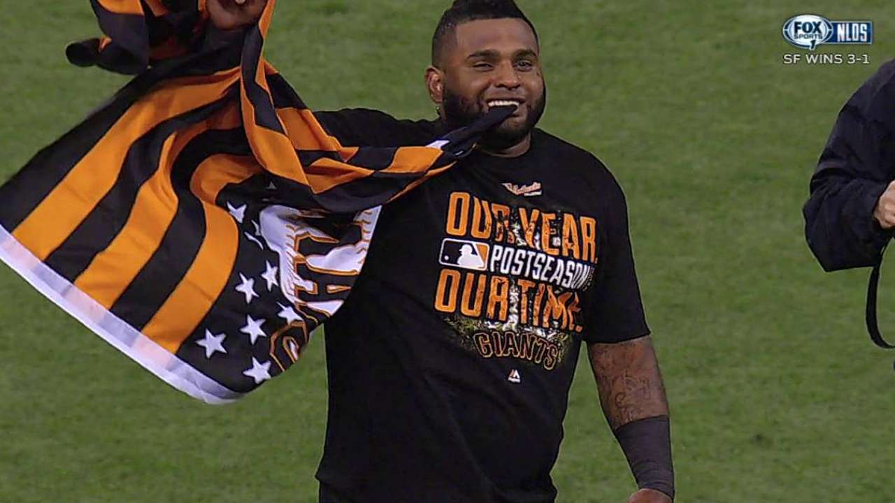 Giants' Flannery knows October is about execution