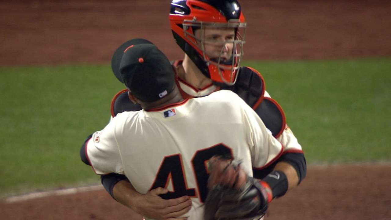 'Relentless' Giants oust Nats to reach NLCS
