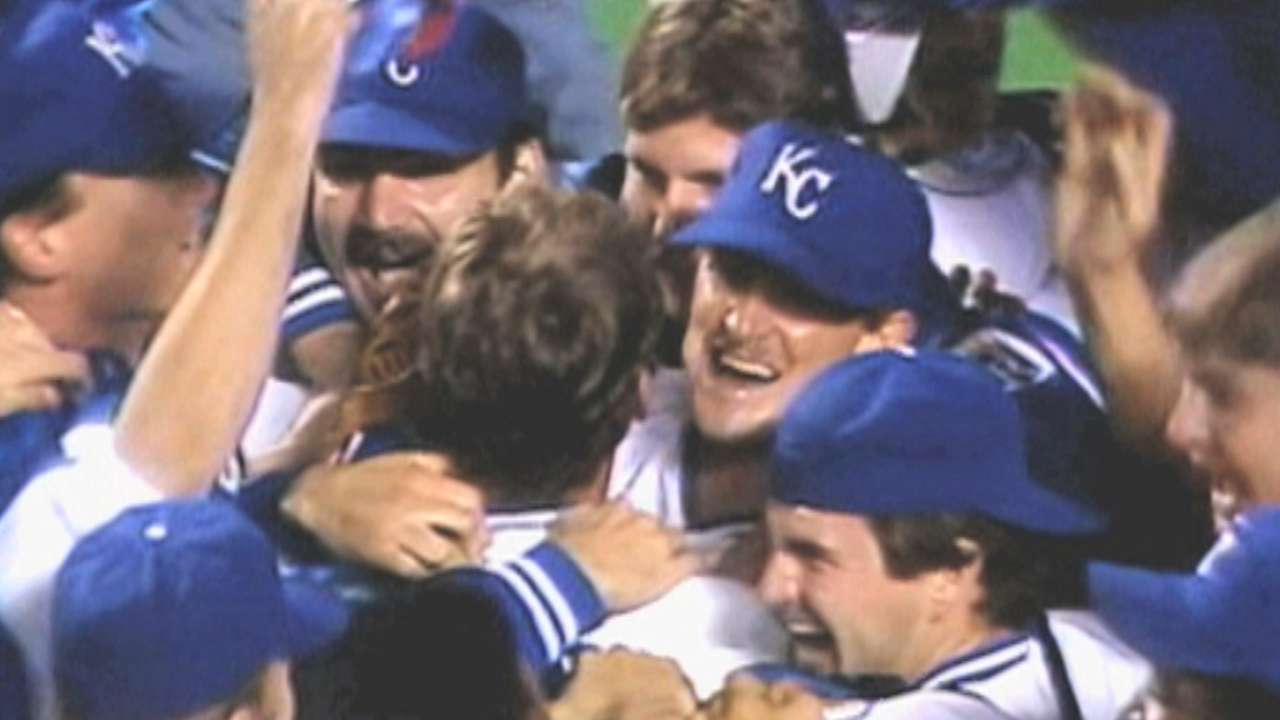 Saberhagen sees flashes of '85 in fearless Royals