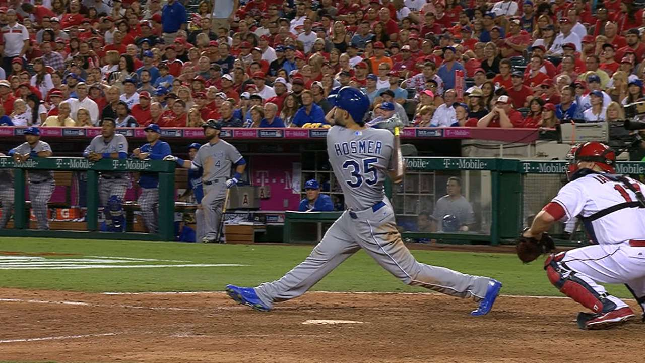 Hosmer, Royals fondly recall October trip to Anaheim