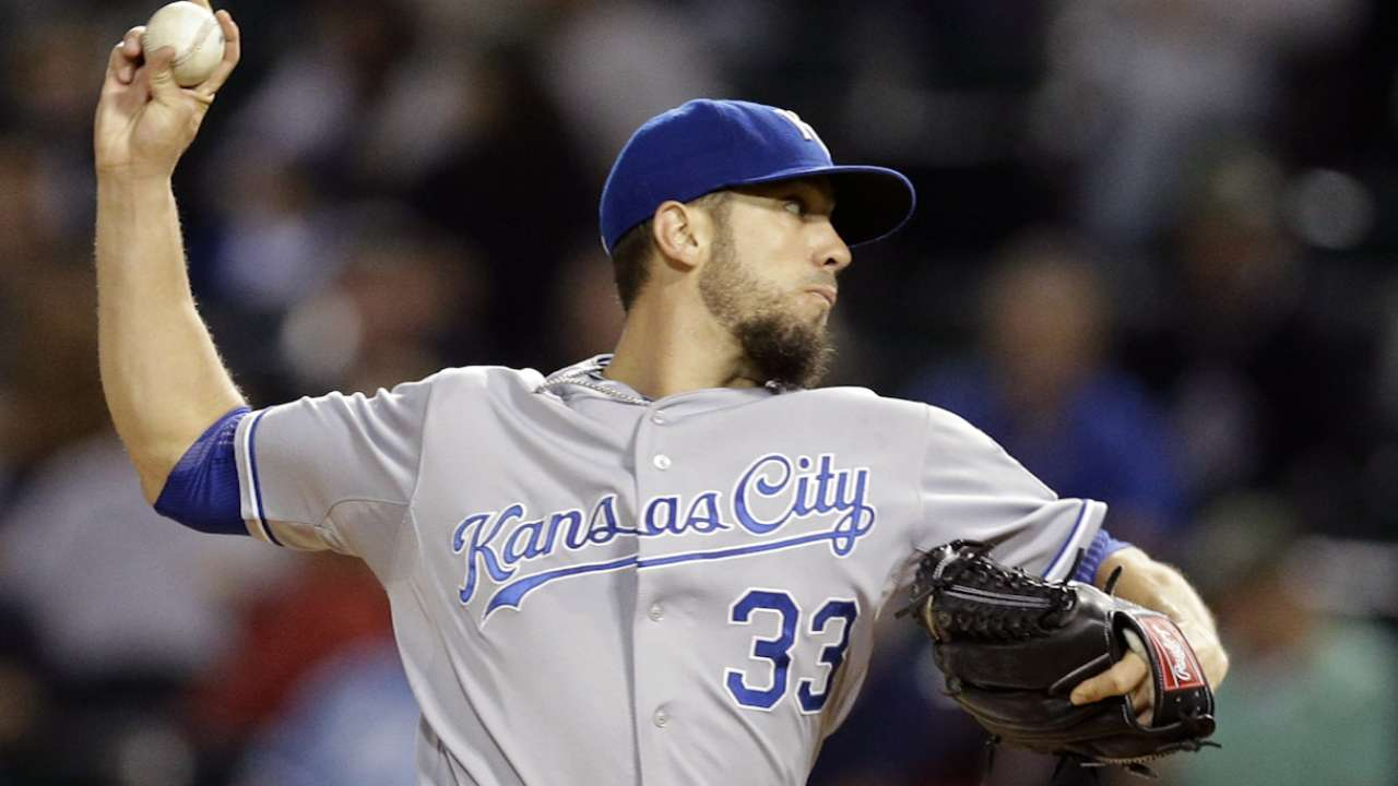 Oct. 9 James Shields workout day interview