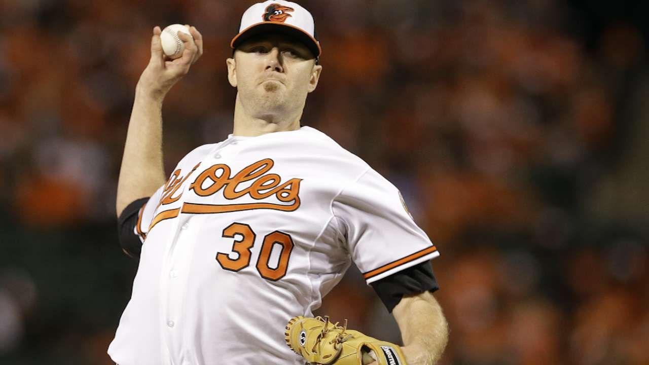 O's turn to calm, consistent Tillman in Game 1