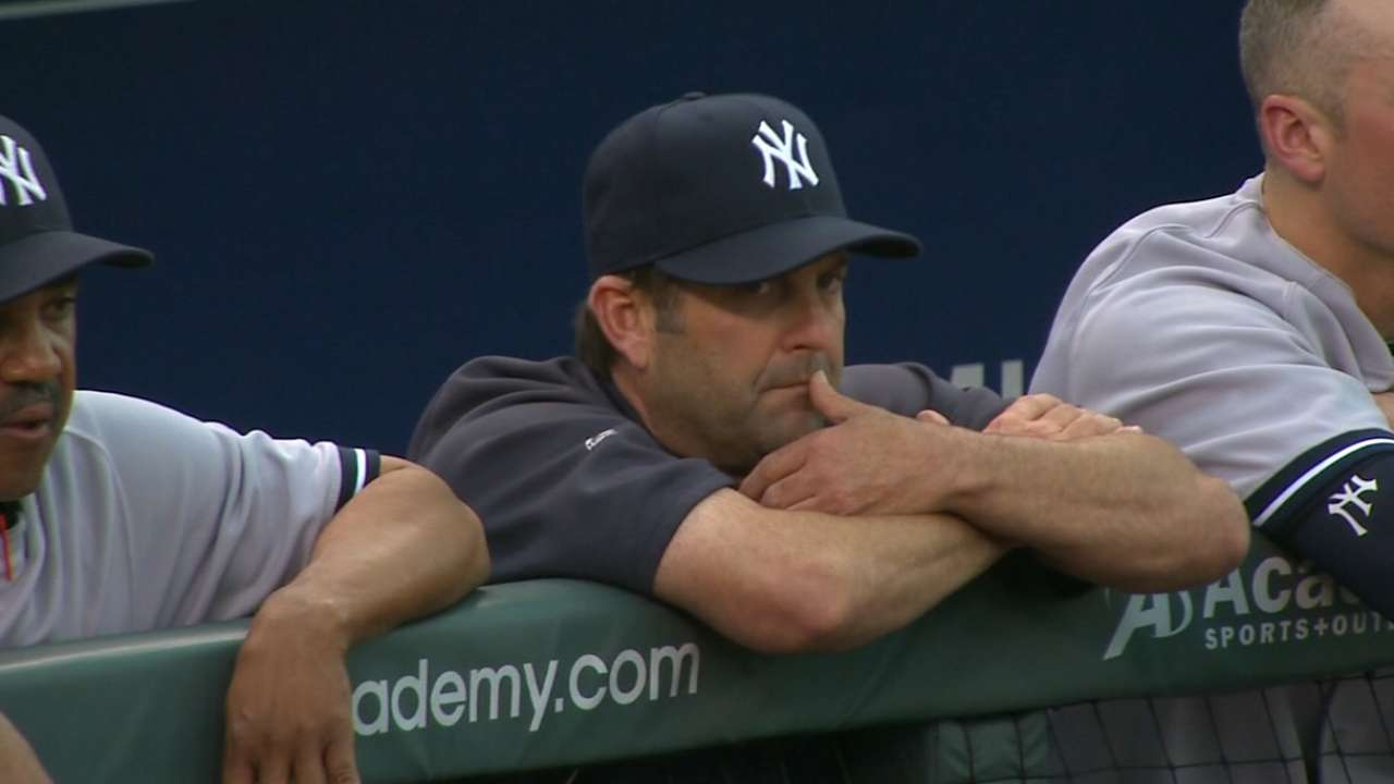 Long, Kelleher out as Yankees coaches