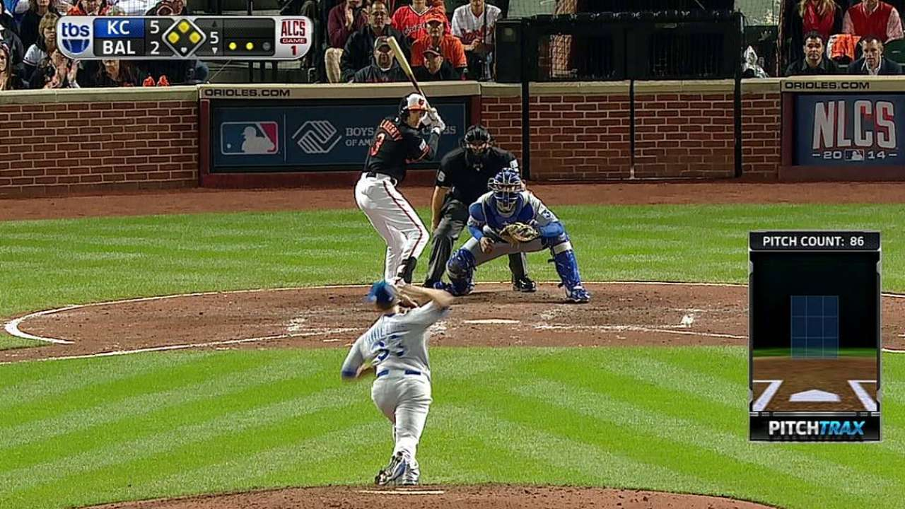Flaherty's two-run single