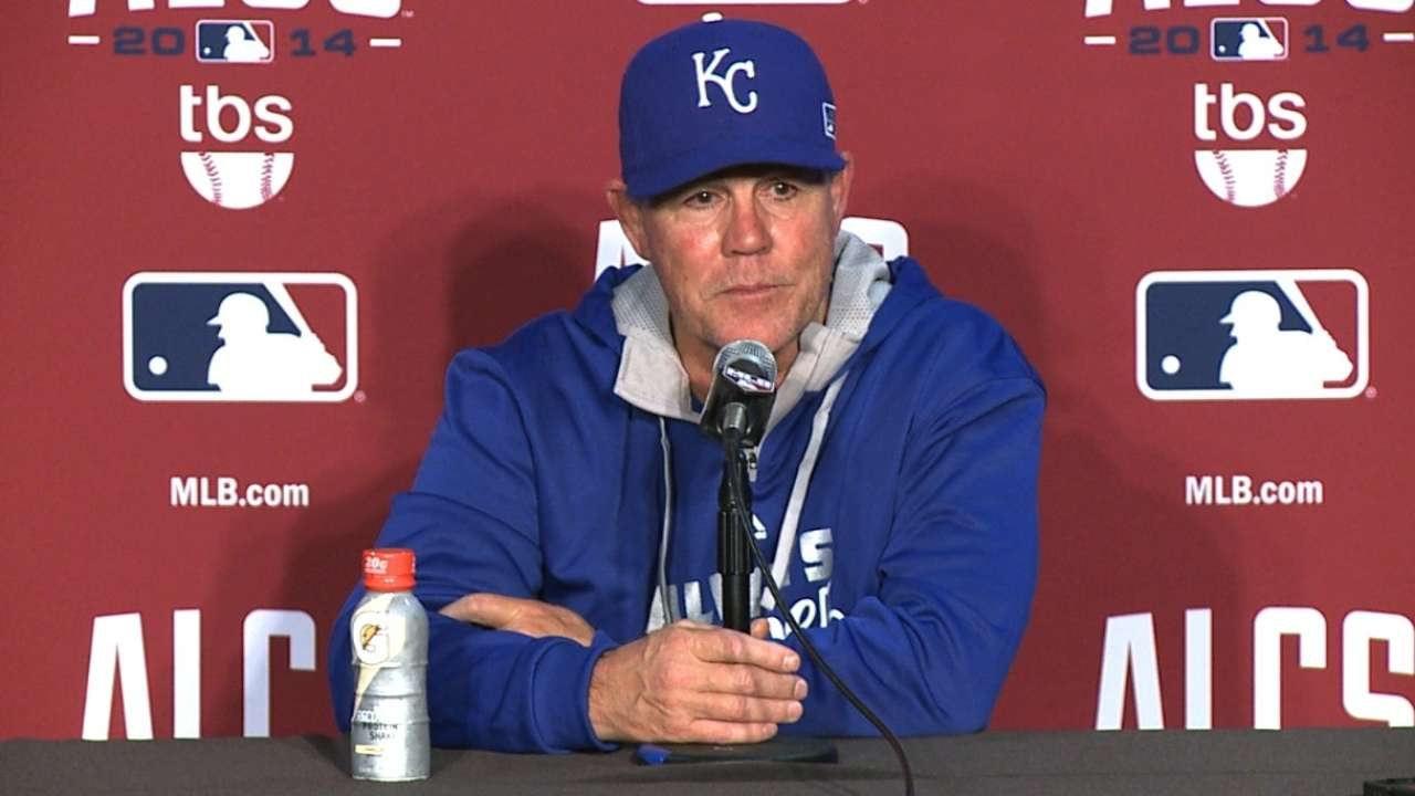 Oct. 10 Ned Yost postgame interview