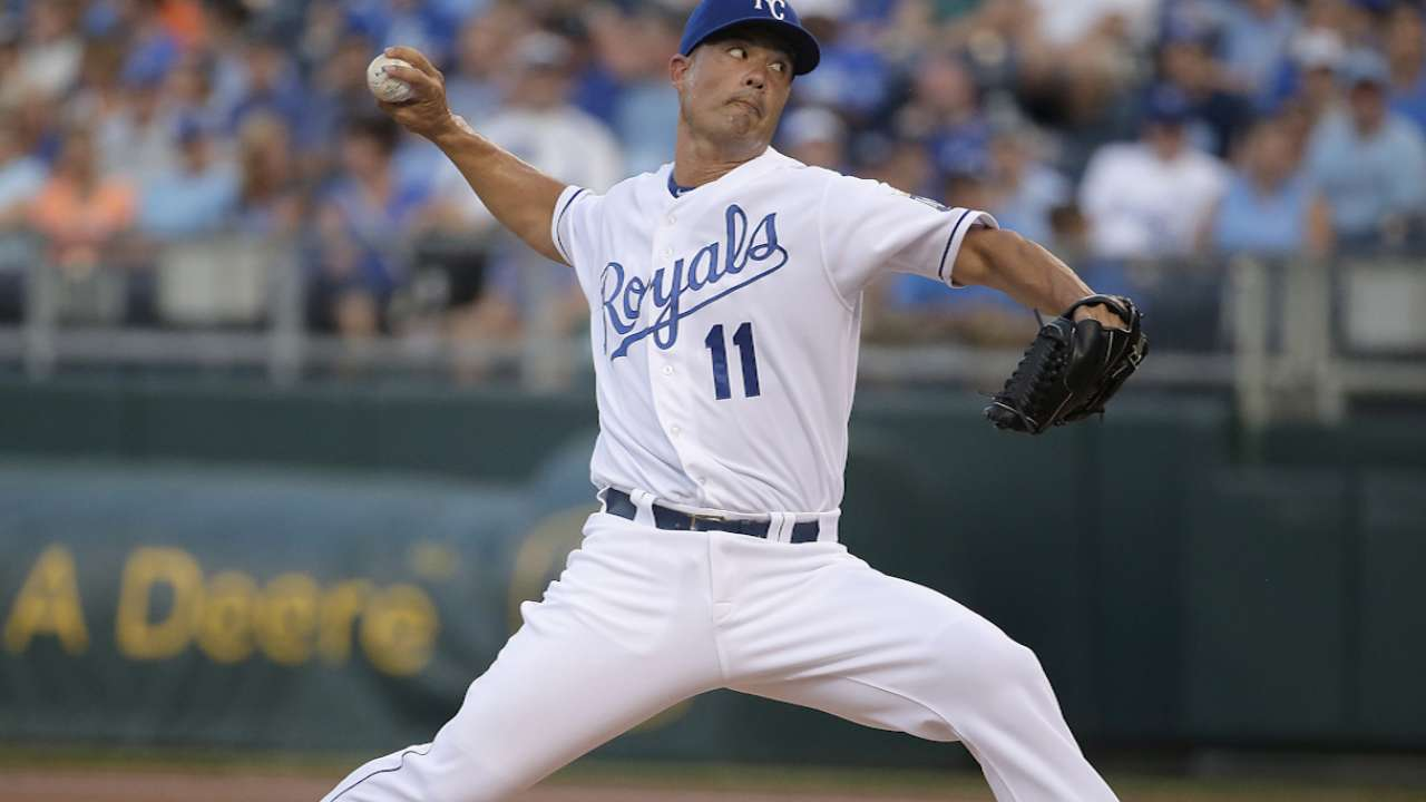 Guthrie looks to give Royals commanding ALCS lead