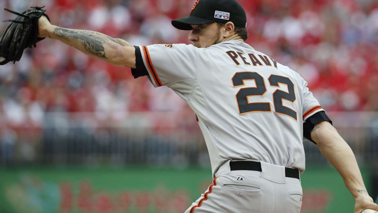 Peavy's postseason experience paying off